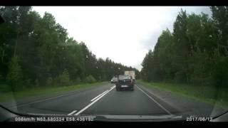 Смертельное лобовое ДТП 12-06-17 Учалинский р-н, Башкортостан