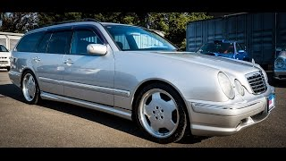 Walk Around/Test Drive - 2002 Mercedes Benz E55T AMG Wagon - JDM Car Auctions
