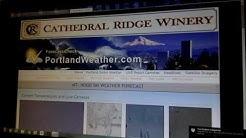 Tuesday 7:20pm Portland Weather by PortlandWeather.com  Rod Hill