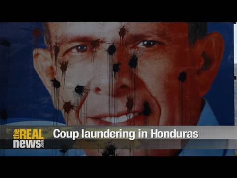 Honduras: Elections as coup laundering