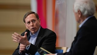 Conversation with David Petraeus and CBS News