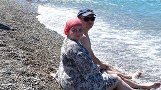 Отдых в Абхазии/Мы на море
