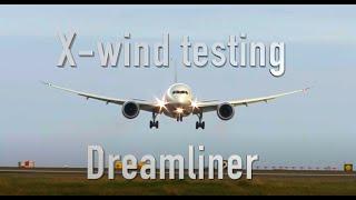 B787 Crosswind Testing in Iceland