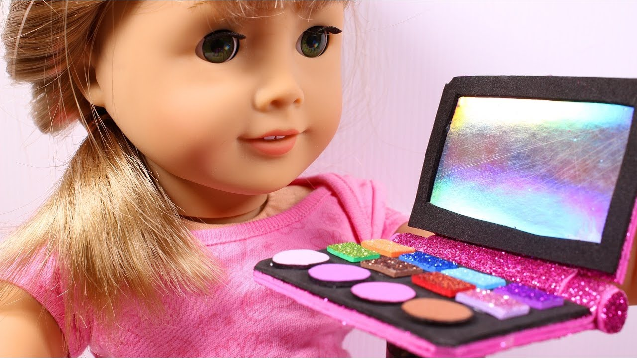 Diy ag american girl doll makeup youtube solutioingenieria Images