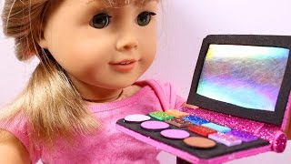 diy ag american girl doll makeup