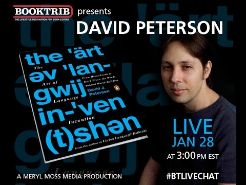 Interview with Master Linguist David J. Peterson, author of The Art of Language Invention