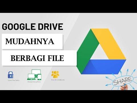 Cara berbagi file dengan mudah lewat  google drive.