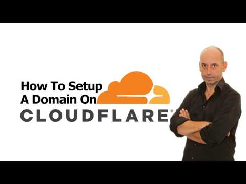 How To Setup A Domain On Cloudflare - Using Cloudflare DNS Servers