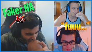Yassuo meets Faker in soloQ | Tyler1 Flames His Donator | LoL Daily Moments Ep #217