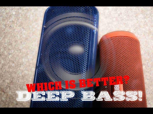 JBL Flip 3 VS Sony SRS-XB3 || BASS COMPARISON!