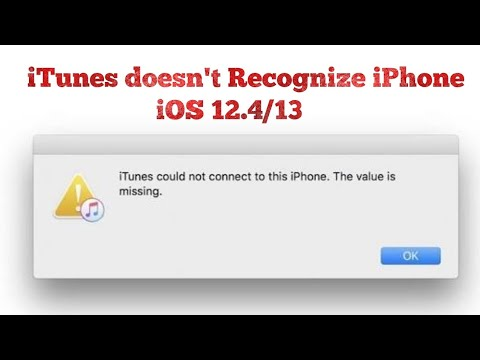 ITunes Could Not Connect To This IPhone Error On IPhone 11 Pro Max In IOS 13/13.1 - Here's The Fix
