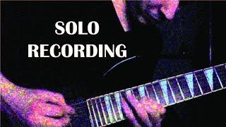 Brain Collapse - solo guitar recording