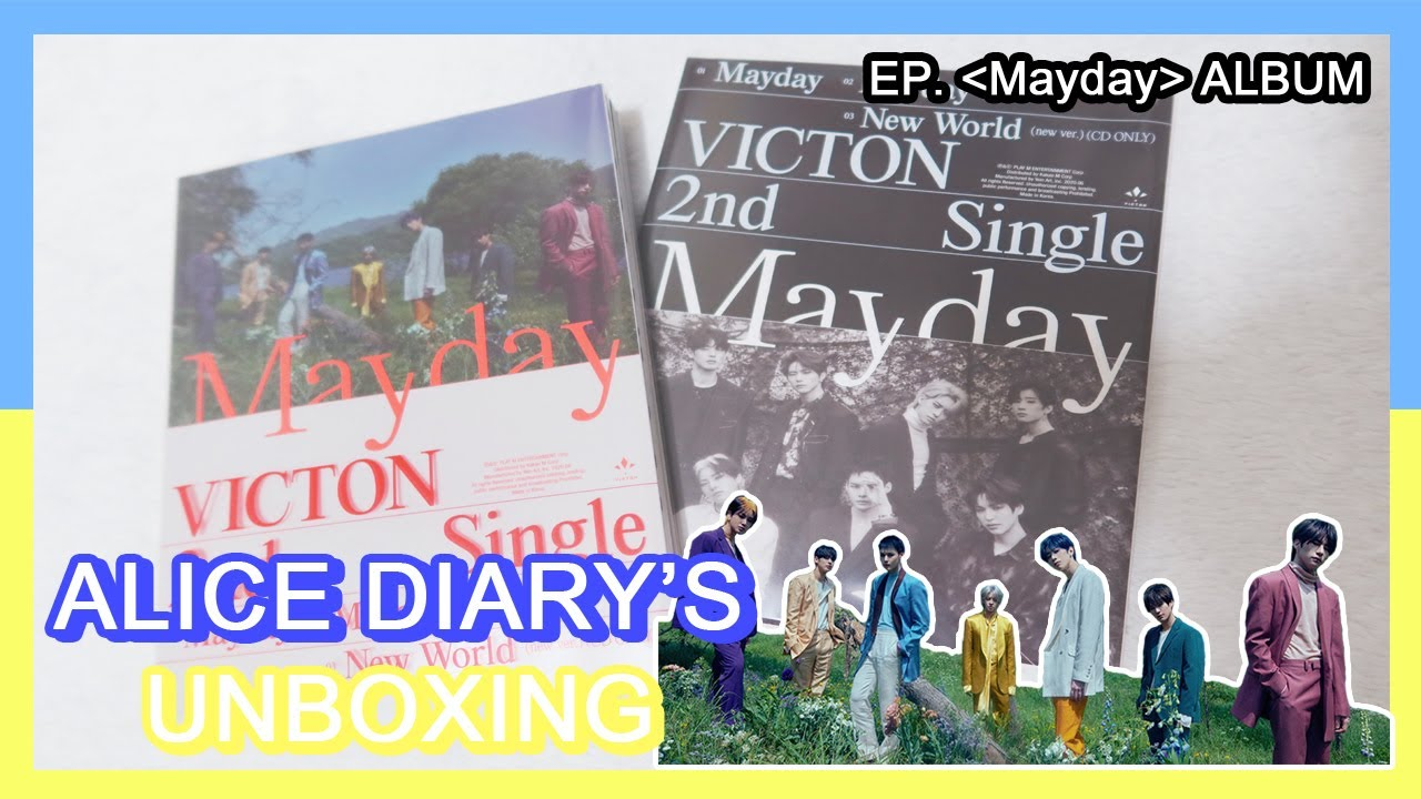 [ENG SUB]앨다 언박싱 EP. 02 : 'Mayday' ALBUM/ALICE DIARY'S TALK TIME with VICTON