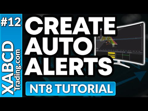 Creating Alerts in NinjaTrader 8 with the Market Analyzer
