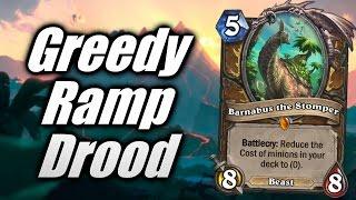 Hearthstone | QUEST-RAMP Druid: Tense Games! [Cobrak]