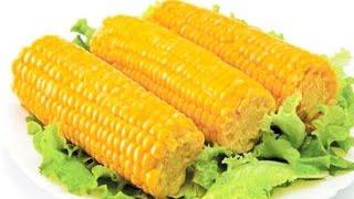 Вкусная вареная молодая кукуруза