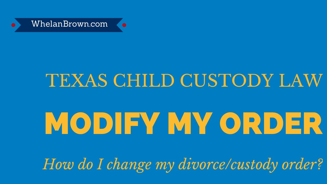How do you get a divorce in Texas?