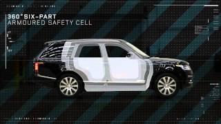 Bulletproof Range Rover Sentinel revealed