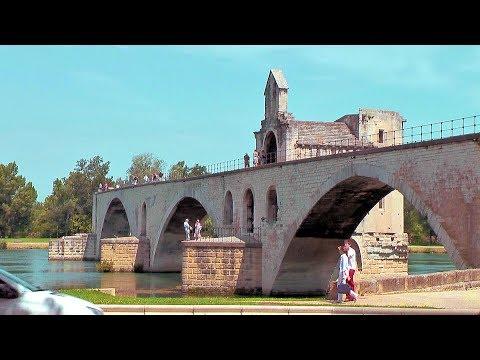 Pont d'Avignon (Pont Saint-Bénezet), Avignon, Provence France [HD] (videoturysta.eu)