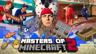 MAGNEETVISSEN in de FATA MORGANA | MASTERS OF MINECRAFT 2 | Efteling Junior