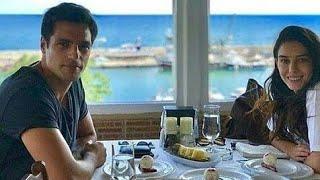 Özge Gürel Sevgilisi Serkan Çayoğlu ile Birlikte Yemekte