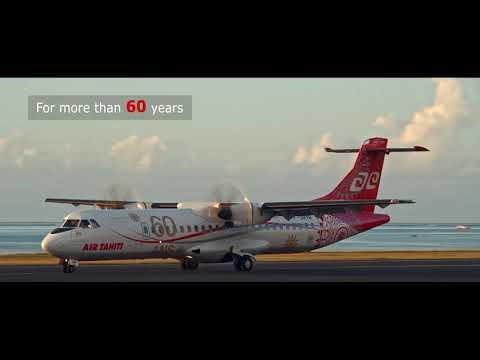 Air Tahiti at your service (English version)