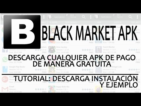 DESCARGAR APPS DE PAGO GRATIS - BLACKMARKET - TUTORIAL