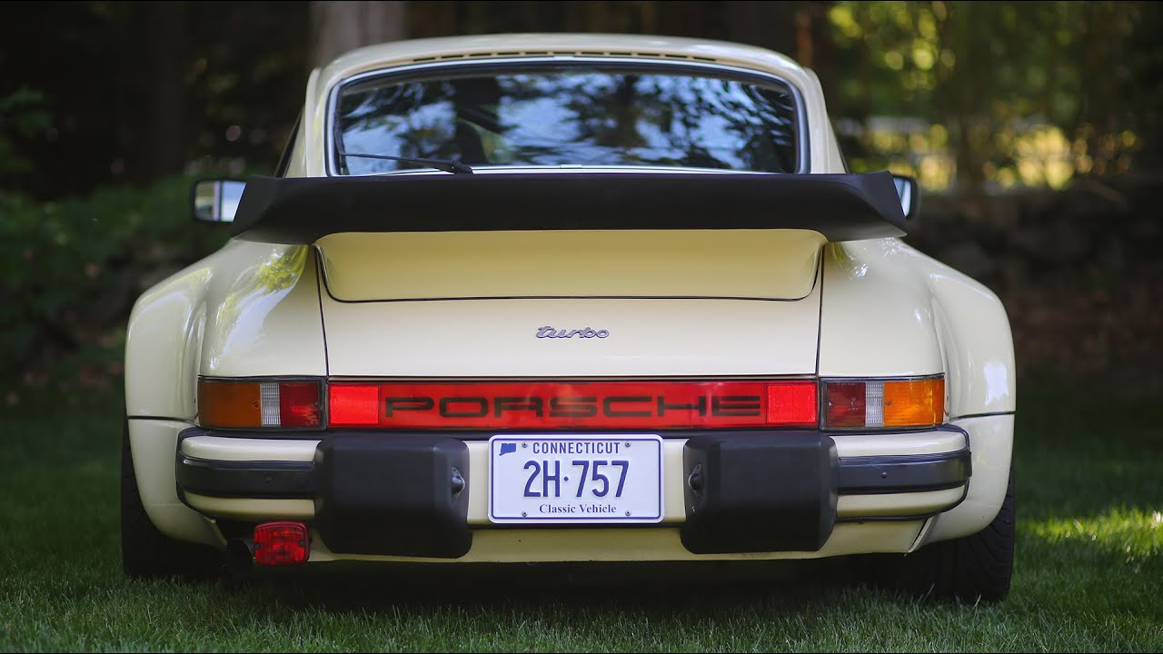 Porsche 930 (911 Turbo) review and drive - YouTube