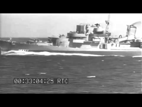 WW2 Firing Depth Charges, 12/18/1944 (full)