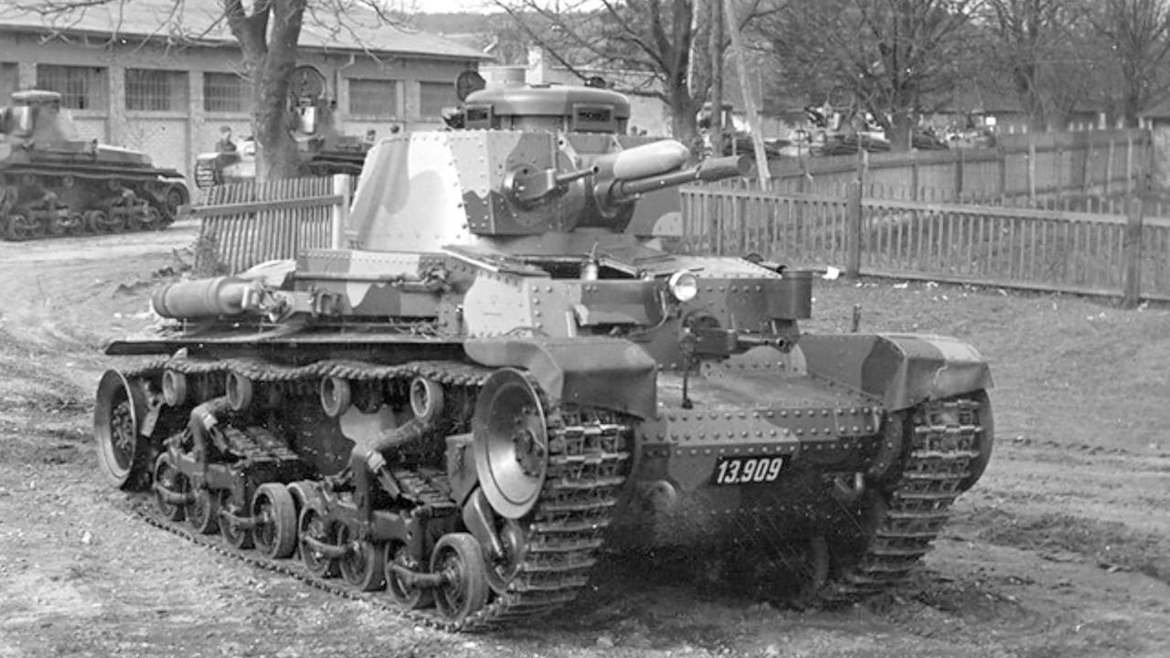 Československý lehký tank LT vz. 35 / Pz.Kpfw. 35(t) #1