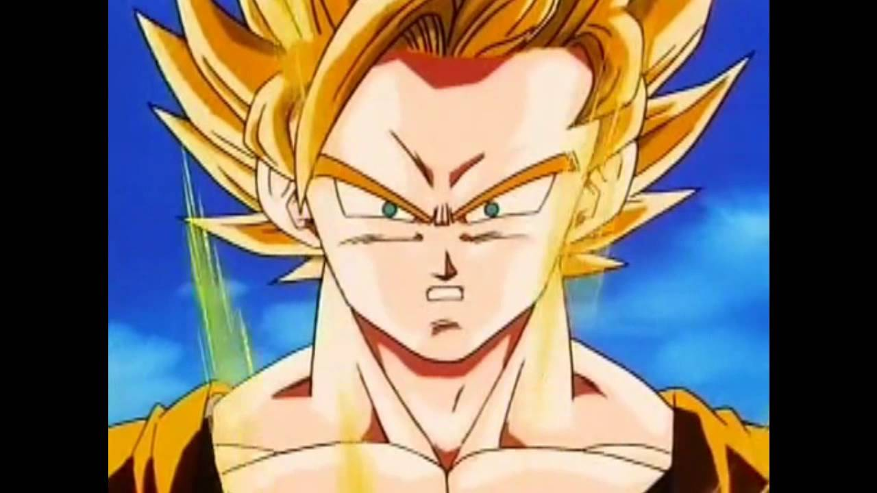 Goku And Vegeta Turn Super Saiyan 2 For The First Time Youtube