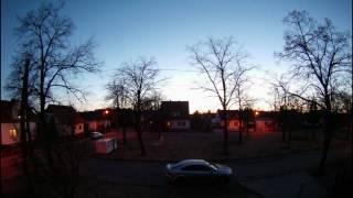 Sonnenuntergang in Cottbus - Zeitraffer mithilfe der GoPro Hero HD