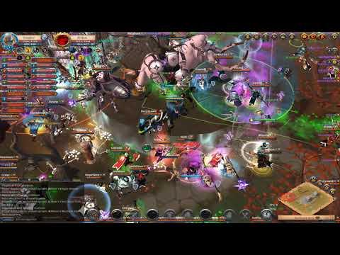 Venom Basilisk ZvZ | NA Reset | SQUAD Vs POE + Battle Mammoth Kills | Albion Online