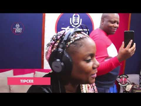 DJ Tira and Tipcee on the DJ Sbu Breakfast