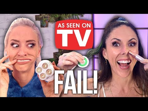 "Testing Weird ""As Seen On TV"" Products! (Beauty Break)"