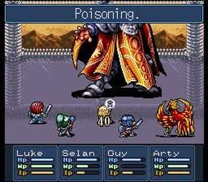 Lufia II : Rise of the Sinistrals Final Boss Battle