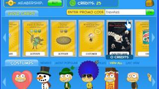 poptropica 2 promo codes and hidden outfit