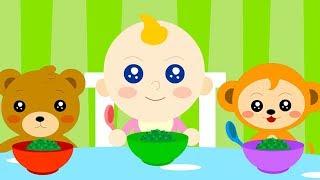 🥒 Yes Yes Vegetables Song 🥕 +More Nursery Rhymes & Kids Songs🌽