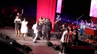 Superbowl Friday - Superbowl Gospel Celebration - nobody greater - Fantasia Barrino Donnie McClurkin