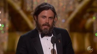 Casey Affleck Oscar Best Actor Winner 2017