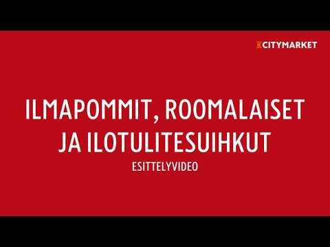 Ilmapommit, roomalaiset ja ilotulitesuihkut 2017 | K-Citymarket