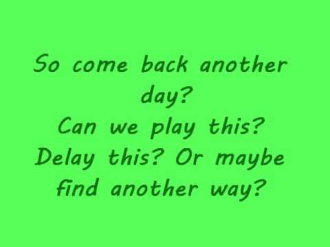 Don't Save Me By Sing It Loud (Lyrics)