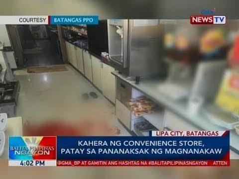 BP: Kahera ng convenience store, patay sa pananaksak ng magnanakaw