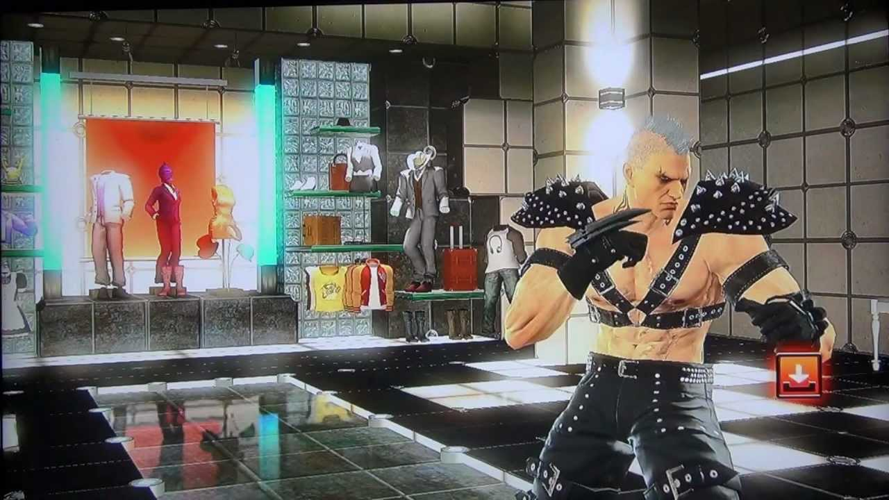 Tekken Tag 2 Bryan Fury Customization Youtube
