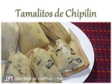 Receta Tamalitos De Chipilin Guatemala