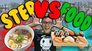 ST3P VS FOOD - RAMEN E SUSHI IN QUANTITA'!! IN GIAPPONE!! w/MATES