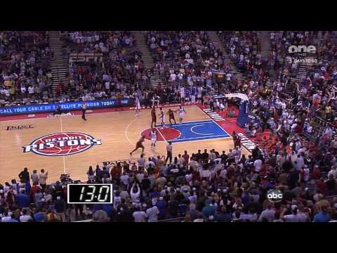 Udonis Haslem Game Winning Jumper vs Pistons 22.3.09