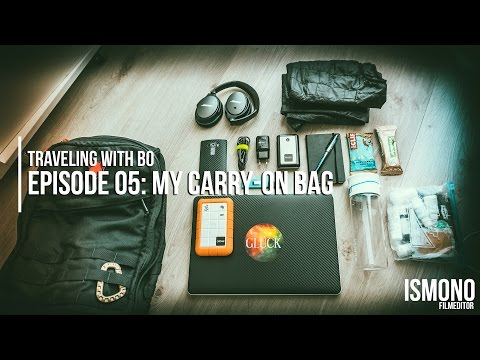 Traveling with Bo // My Carry-On Bag. (Episode 05)