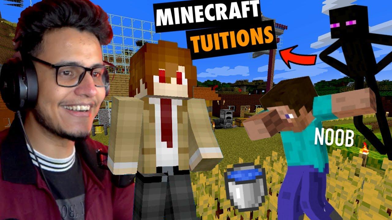 I Became a Teacher in Minecraft | Ultimate Minecraft Tricks/Hacks @KKL Plays
