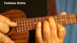 Twinkle Twinkle Little Star Messarounds on Ukulele Auckland Guitar Lessons
